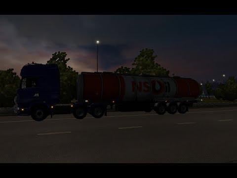 Euro Truck Simulator 2 MP Ep 75 Diesel från Oslo (N) till Oslo (N)