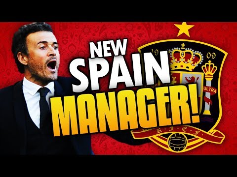 ►SPAIN APPOINTS LUIS ENRIQUE AS NEW MANAGER! BUT WHY?