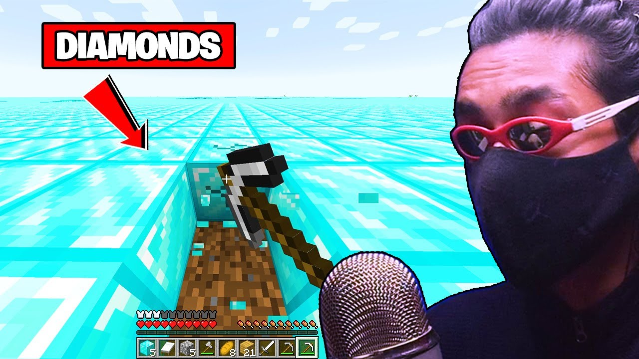 Beating Minecraft in Diamond only World
