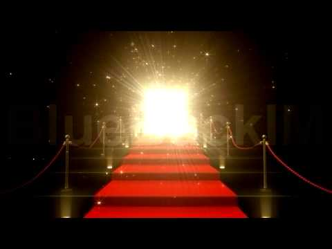 著作権フリー 映像素材 動画素材 ドア 扉 階段 レッドカーペット 希望