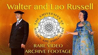 USP Homecoming (2017) Walter and Lao Russell - RARE VIDEO ARCHIVE FOOTAGE