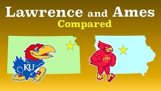 Lawrence and Ames Compared