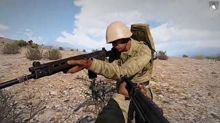 Arma 3 HardMode Games TvT Выскочил под пули. (12.06.18)