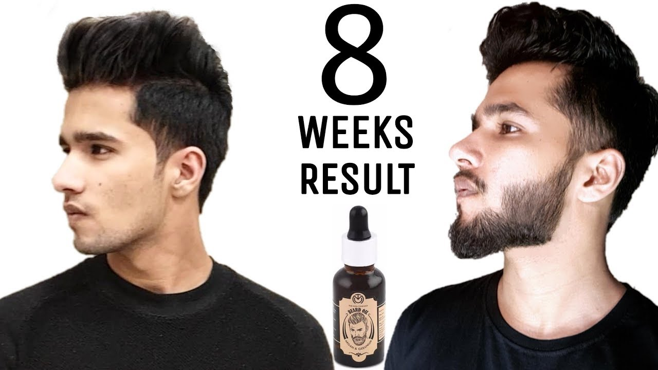 The Man Company Beard Oil Growth Results | How to apply ...
