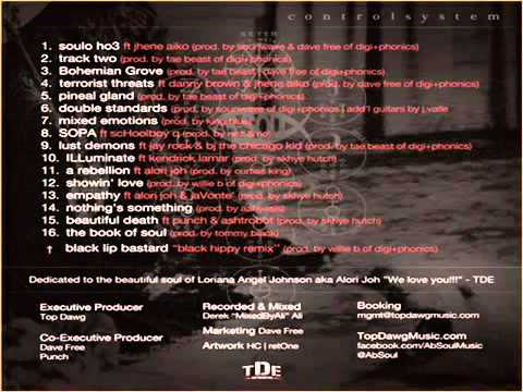 ABSOUL  CONTROL SYSTEM MIXTAPE FULL