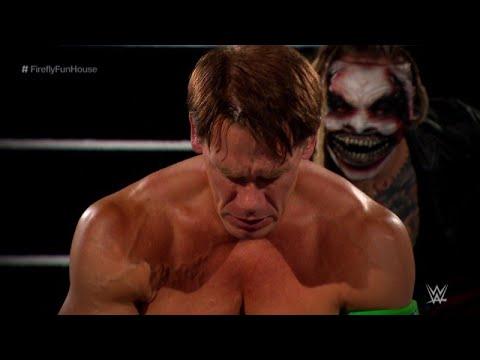 "Download John Cena vs ""The Fiend"" Bray Wyatt /Firefly Funhouse Match /Full match highlights / Wrestlemania 36"