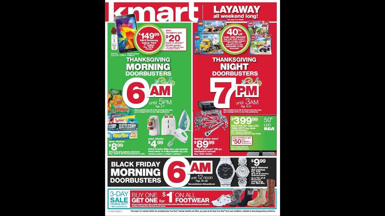 Kmart black friday deals online
