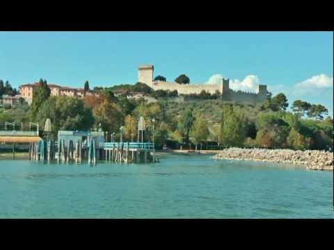 Italy Umbria Castiglione Del Lago Lake Trasimeno Trasimenomeer
