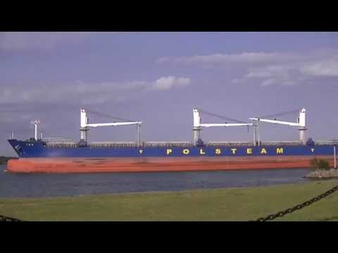 Isa - Polsteam - Handysize 7 - Bulk Carrier on St. Mary's River 2014