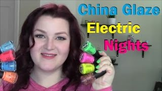 China Glaze Electric Nights Summer 2015 Live Application