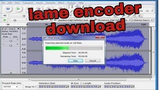 how do i download and install the lame mp3 encoder