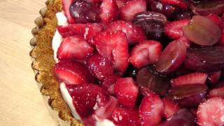 No-bake Fruit Tart - Recipe By Laura Vitale - Laura In The Kitchen Episode 139