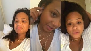 Christina Milian | Instagram Live Stream | 23 April 2017 | Answer Fan Questions