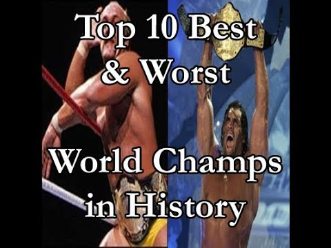 Top 10 Best & Worst World Champions Ever (Podcast Wrestling Society)