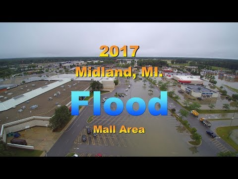 FLOOD - Midland, MI Joe Mann BlVD  140FT from The Eye in the Sky