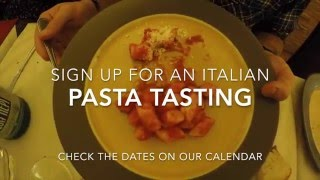 Glocalize Yourself Video - Pasta Tasting