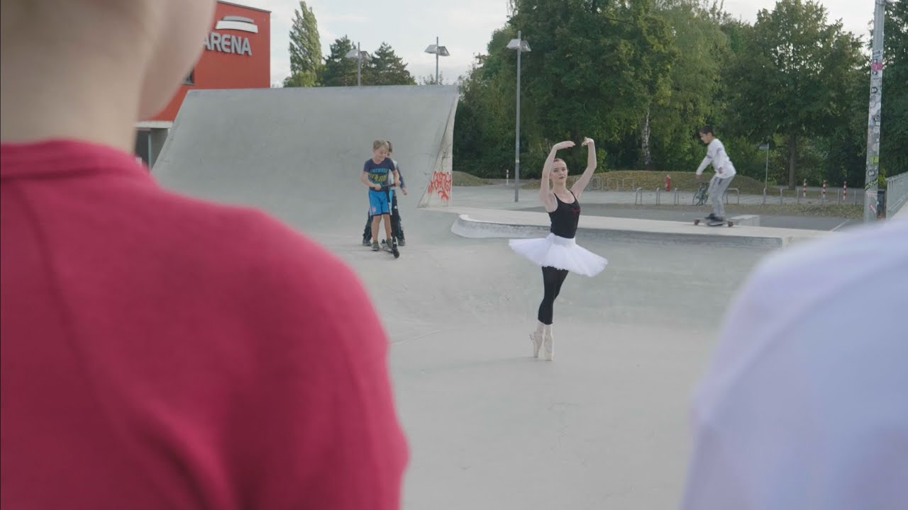 Göttingen: Ballerinen und Skater