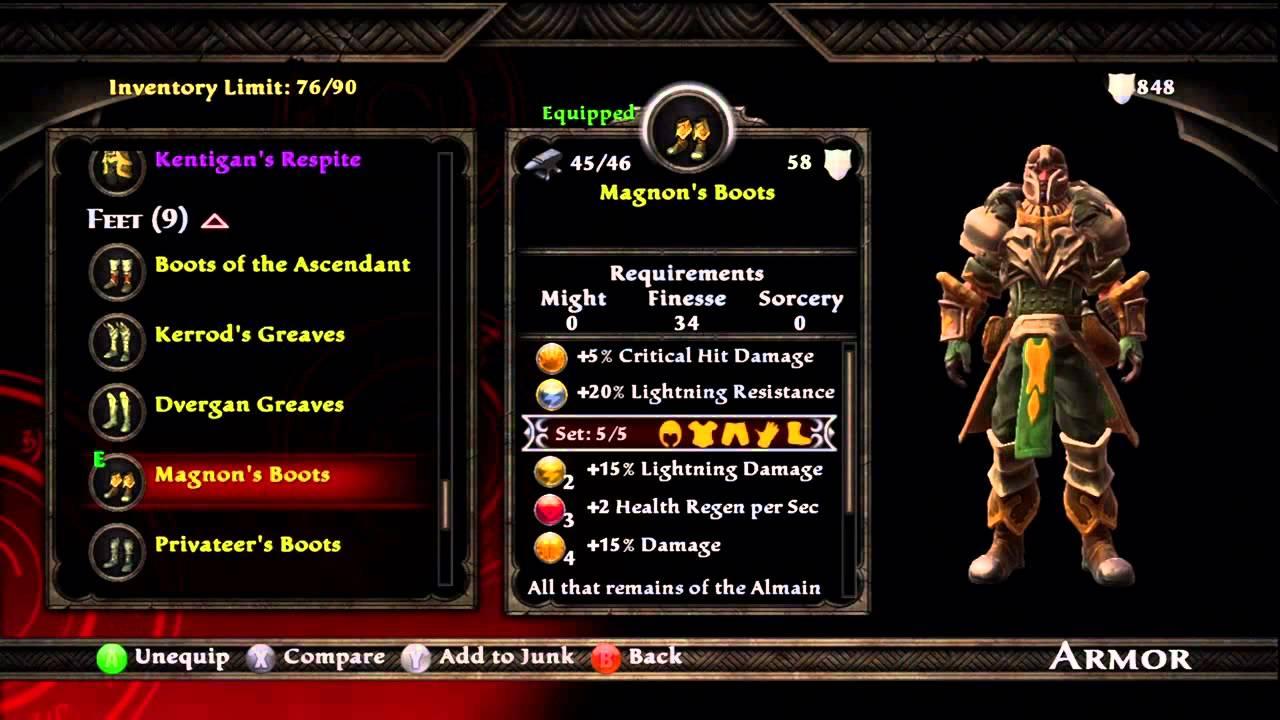 Kingdom Of Amalur Best Armor Build