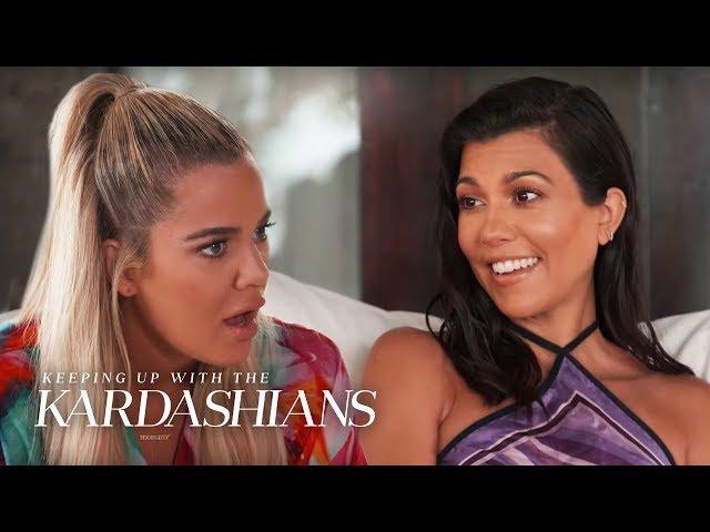 Kim and Khloe Kardashian Get Jealous After a Healer Tells