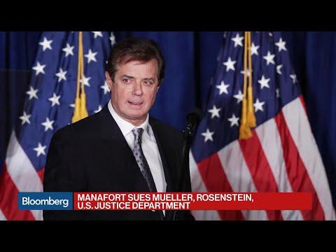 Manafort Sues Mueller, Rosenstein and Justice Department