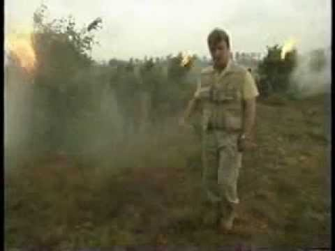 Reporter Gets High From Burning Weed Piles