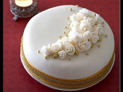 Dolci Per Anniversario Di Matrimonio.Torta Per Anniversario Cake Anniversary Designs Youtube