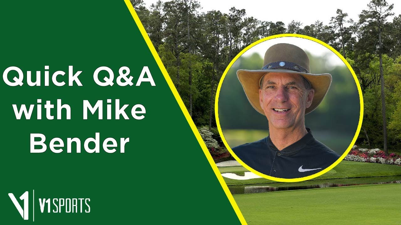 Quick Masters Q&A with Mike Bender