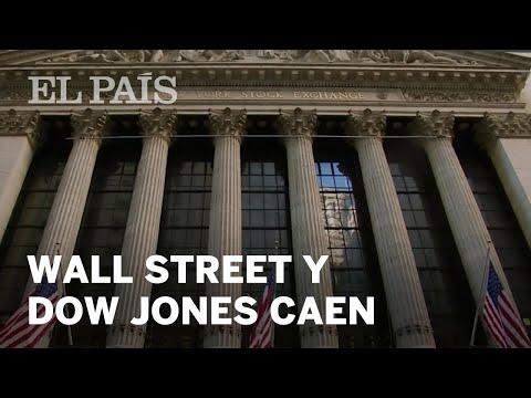 Wall Street se desploma y el Dow Jones registra la mayor caída en puntos de su historia