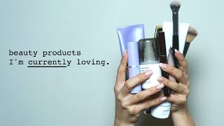 UPDATE + My Current Beauty Product Obsessions 1.0 | Melissa Alatorre
