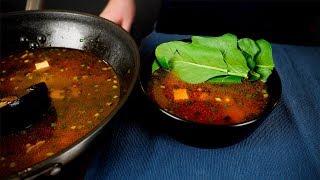 Острый сычуанский суп в WOK'e (Украденный рецепт)