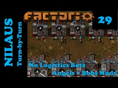 Lets Play Factorio S6E29 - New Raw and Natural Gas setup