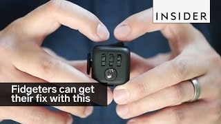 Perpetual fidgeters can get their fix with this tiny cube