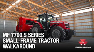 MF 7700S Series Small Frame Tractor Walkaround