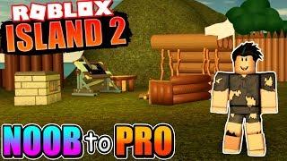 Aller de NOOB à PRO dans l'île 2! 'BEST NEW ROBLOX SURVIVAL GAME!