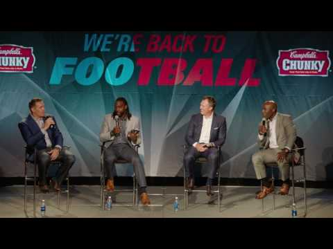 NFL Kick-Off Brunch: Terrell Davis, Kurt Warner, Charles Tilman and John Lynch talk Super Bowl