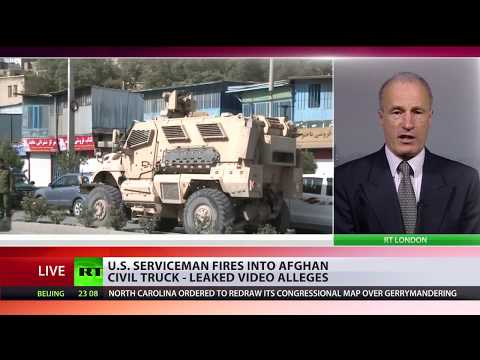 US serviceman fires into Afghan civil truck – leaked video alleges