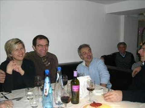Cena di Fine Anno 2007 Di Paolo Arredamenti - YouTube