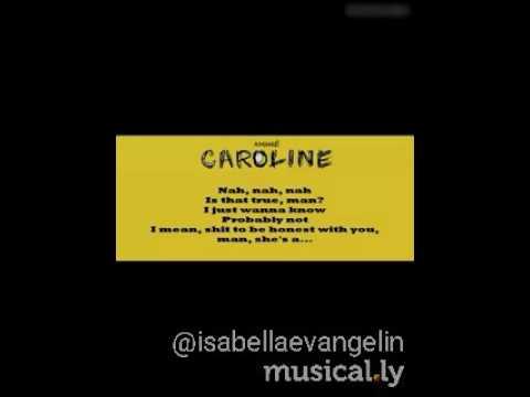 Amine-caroline