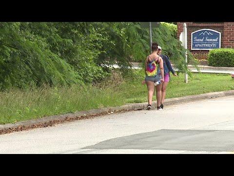 Push for sidewalks near Western Guilford High School