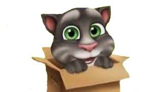 Мой Говорящий Кот Том: Рождение котенка - День1  - Детский игровой мультик для детей