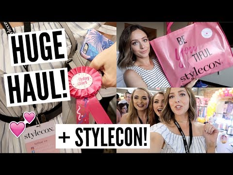 StyleCon Dallas 2017 + HUGE Beauty Haul!!