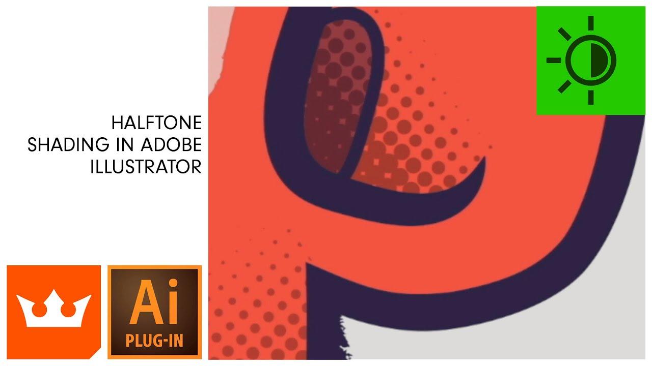 Halftone Shading in Adobe Illustrator   PHANTASM v3