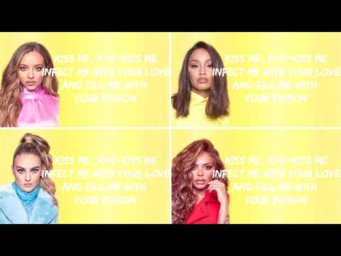 Little Mix ~ E.T Lyrics Video (2015 version) #ThrowbacktoXFactorDays