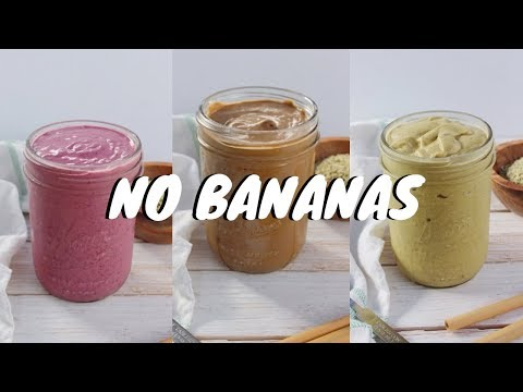 3 Delicious LOW CARB Smoothie Recipes