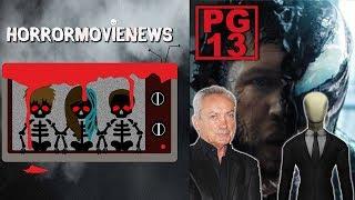 Venom Possibly PG-13, Slenderman Premiere, & Interview with Udo Kier | Horror Movie News Ep 39