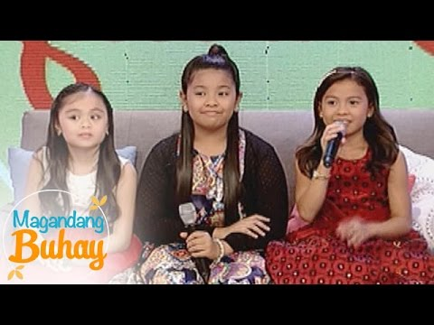 Magandang Buhay: Most memorable gifts received by Lyca, Elha and Esang