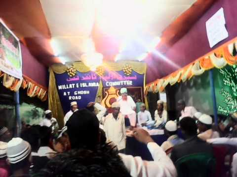 BULBULE BANGAL MAULANA HANEEF RECITING NAAT