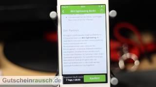 Groupon App im Test auf Gutscheinrausch.de