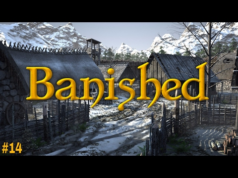 Banished | Part 14: PANIC! OUR BEAUTIFUL MEDIEVAL TOWN IS BEING HIT BY CRISIS!