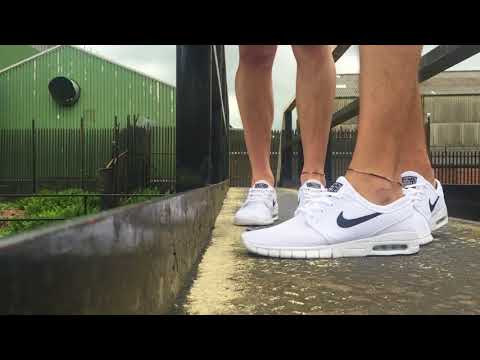 White Janoski Max Shoe Play with Messyste1